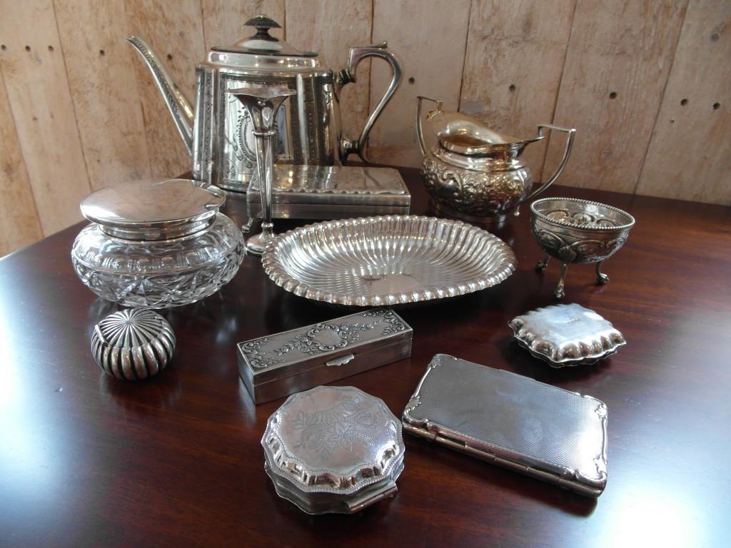 Zilveren voorwerpen