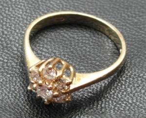Sieraden Gouden diamanten ring