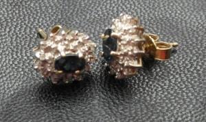 Sieraden Gouden oorstekers mer saffie